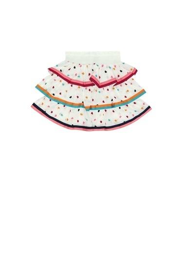 Zimmermann Zimmermann Colorblocked Kalp Nakışlı Kız Çocuk Etek 101600373 Renkli